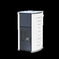FALCON COMODO CENTRAL P18 vízteres pellet kályha (18 kW - Fehér)
