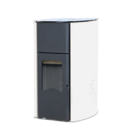FALCON COMODO CENTRAL P25 vízteres pellet kályha (25 kW - Fehér)