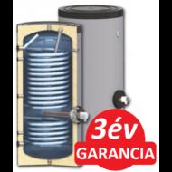 SUNSYSTEM SWP 2N 300 indirekt használati meleg víz tartály hőszivattyúhoz (300 liter) - 2 hőcserélővel