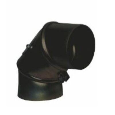 150 mm belső átmérőjű 90°-os kazán füstcső könyök