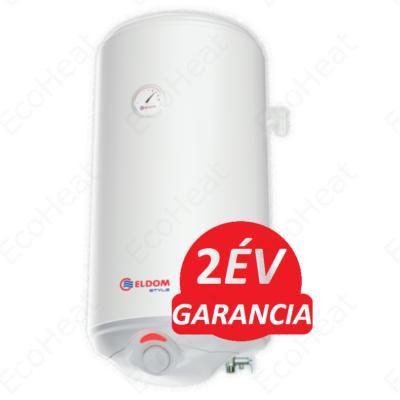 ELDOM Style 50 literes zománcozott elektromos vízmelegítő (1,5 kW - 387 mm Ø)