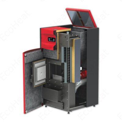 BURNIT Pell Easy 35 vízteres pellet kazán (29 kW) - beépített pellet tartállyal