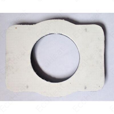 Közdarab tömítő szövet lappal