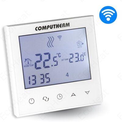 COMPUTHERM E280 programozható digitális Wi-Fi szobatermosztát központi fűtéshez és hűtéshez (műanyag fedőlappal)