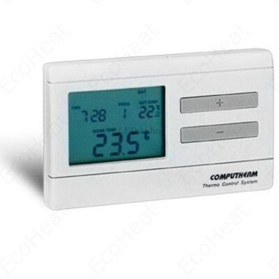 COMPUTHERM Q7 vezetékes digitális szobatermosztát fűtéshez vagy hűtéshez